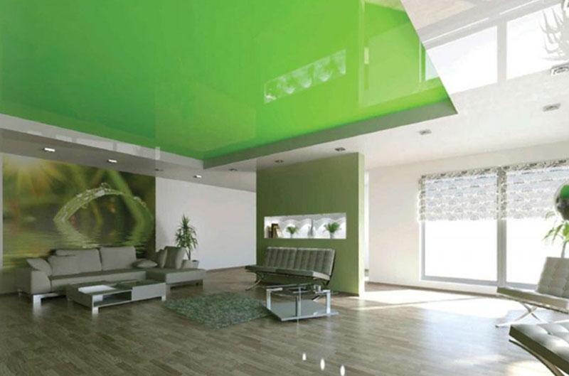 экологически безопасный натяжной потолок