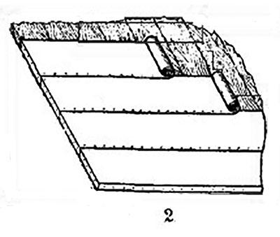Однослойное покрытие толем