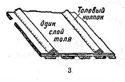 Двухслойное покрытие толем