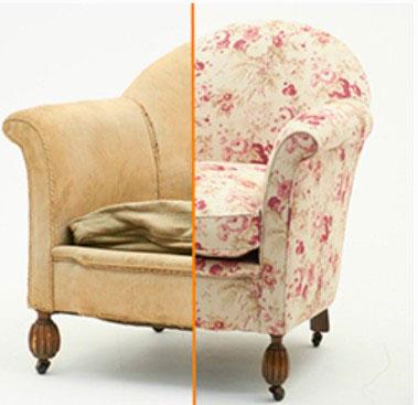 обивка мебели ремонт перетяжка на дому