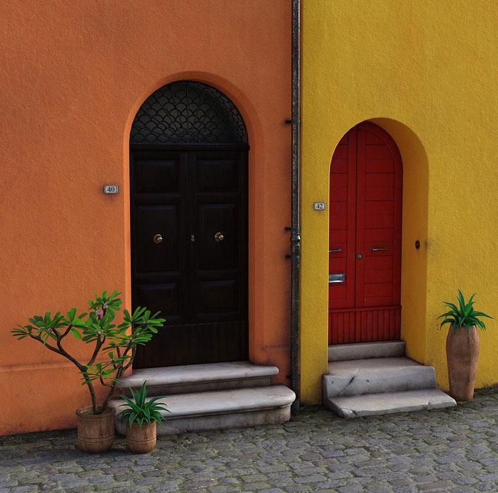 уличные металлические двери фото