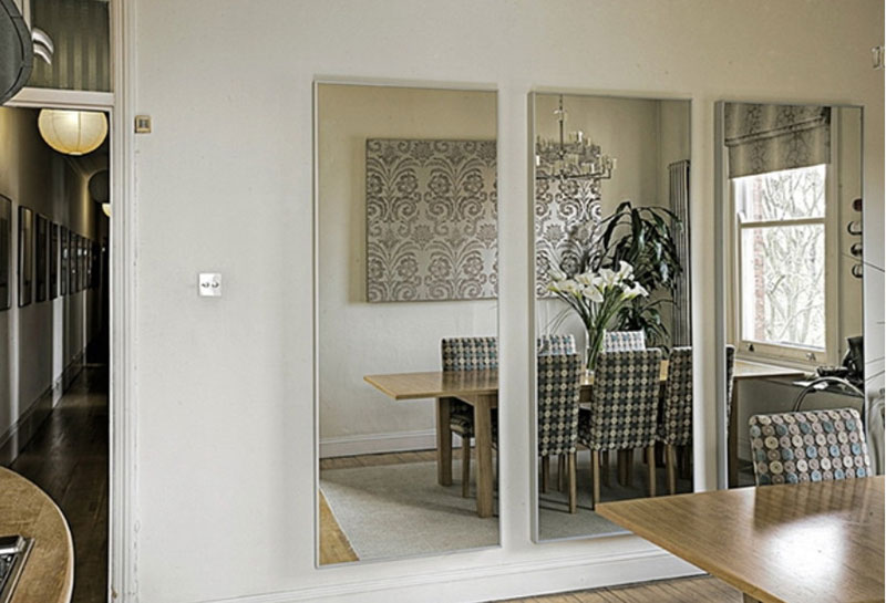 интерьерное зеркало на стену