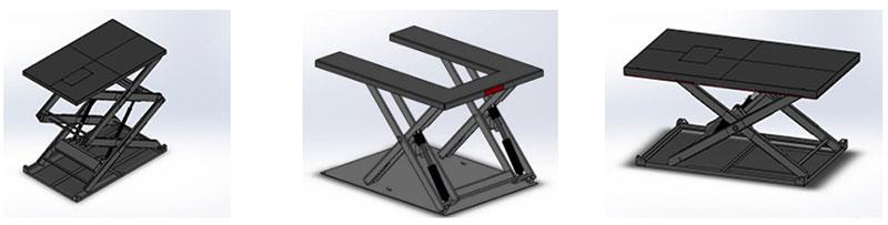 гидравлический стол подъемник