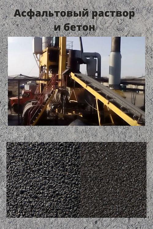Асфальтовый бетон гидростатический бетон