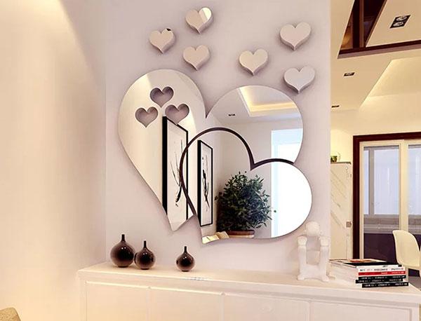 зеркала на стену в интерьере