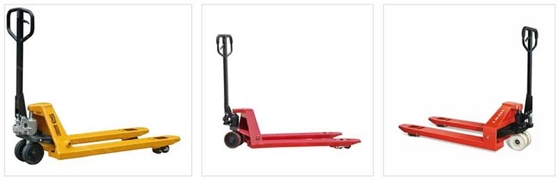 Складское оборудование - штабелеры и гидравлическая тележка (рохля)