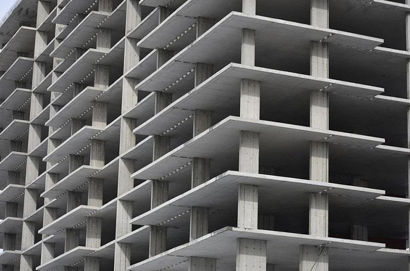 фото высотный дом из качественной строительнной смеси