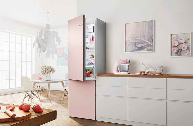 двухкамерный холодильник bosch фото