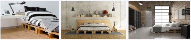 фото кроватей из поддонов