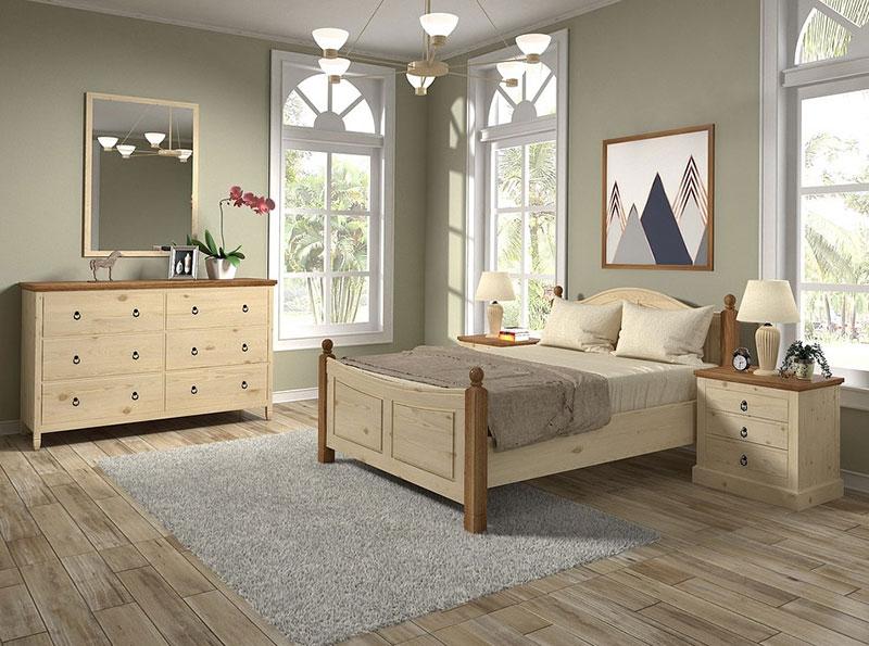 кровать в интерьере фото