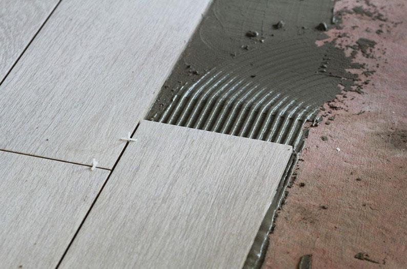 ремонт плитки в подъезде