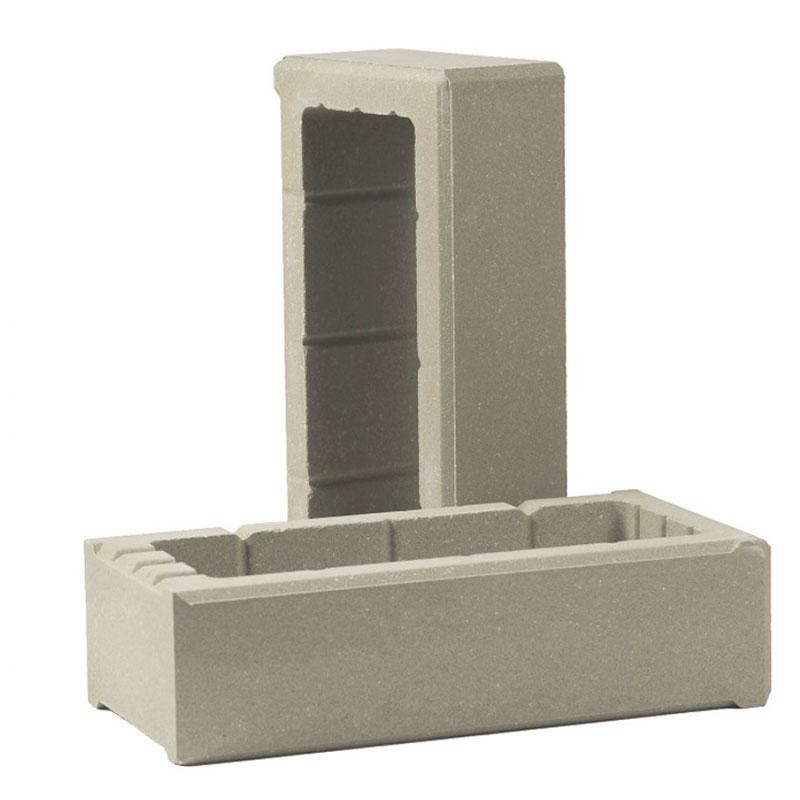 фото декоративного бетонного блока