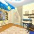 морская детская комната для мальчика ремонт интерьер дизайн детской комнаты