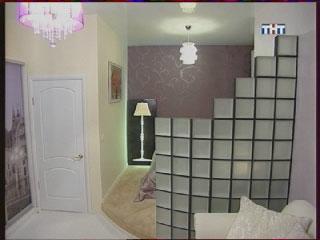 Монтаж и укладка стеклоблоков в телепередаче Школа ремонта на ТНТ