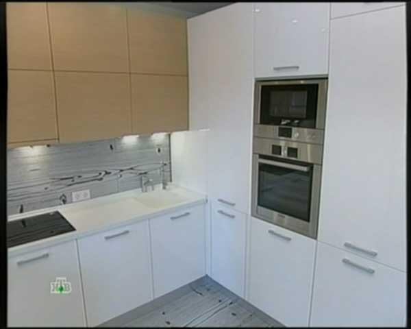 встроенная микроволновка фото, квартирный вопрос, кухни фото