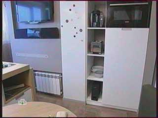 фото холодильника в переделке кухни