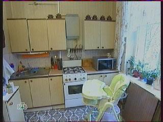 кухня до переделки,  рабочая зона