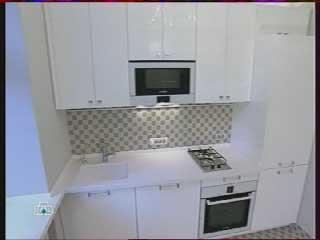 кухня столешница, газовая плита фото