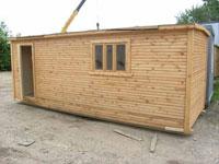 бытовка, строительная деревянная бытовка