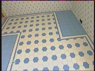метлахская плитка, квартирный вопрос, пол на кухне