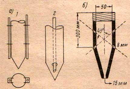 схема подмывных трубок