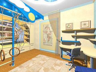 оформление детской комнаты, Школа ремонта на ТНТ