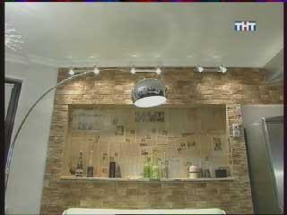 декоративная стена с нишей