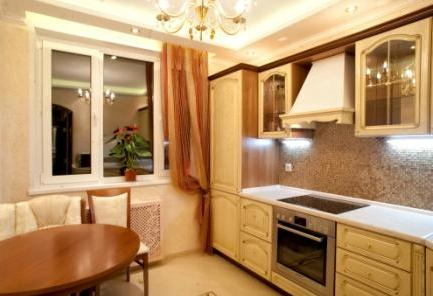 Вид устройства кухни