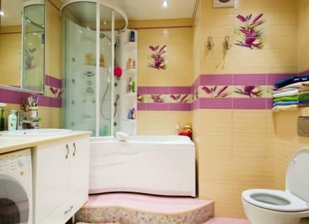яркость дизайна ванной