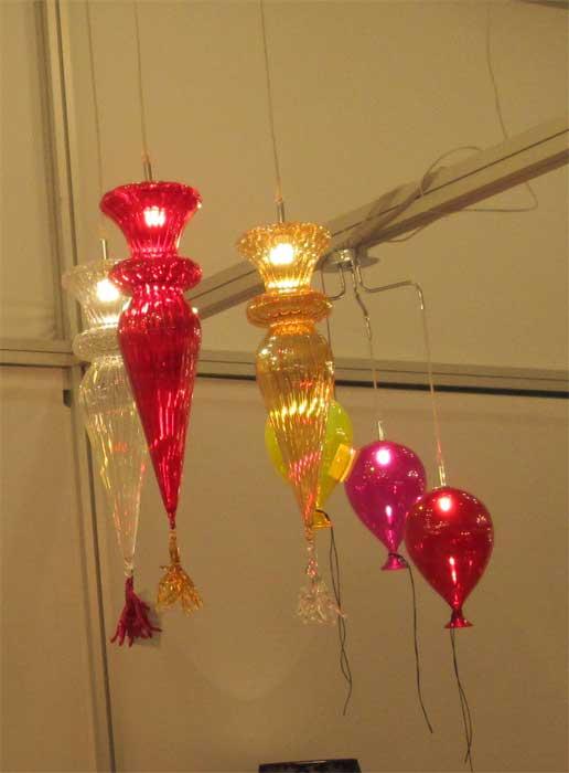 Цветные светильники для детской комнаты
