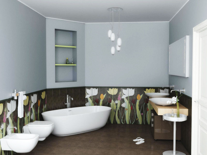 ванная комната интерьер