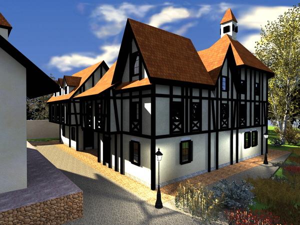 фахверковая конструкция дома