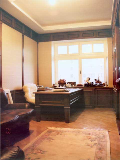 Вид домашнего кабинета