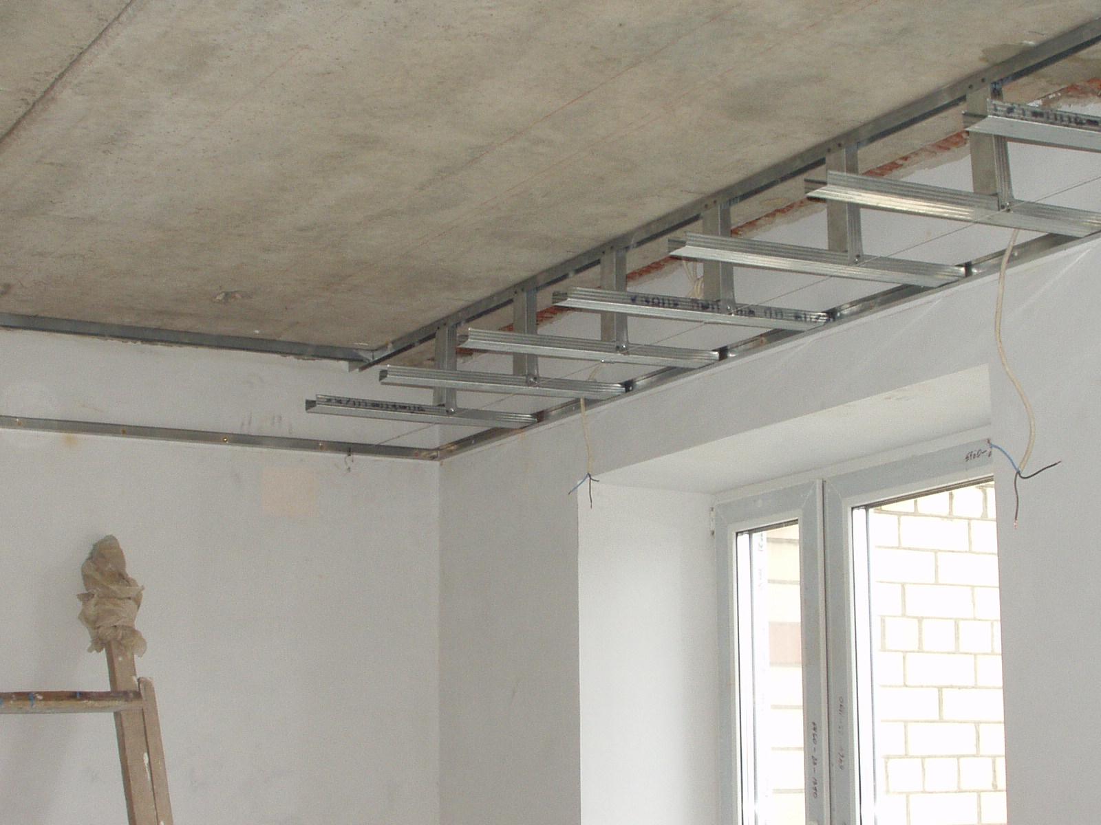 хорошему, обогнать каркасные потолки из гипсокартона фото отделочного материала