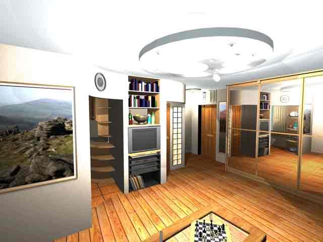 Фото гостиной в дизайне квартиры
