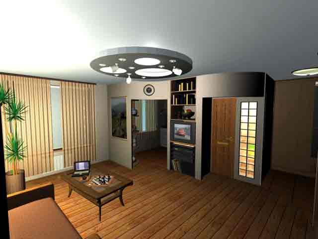 комната интерьер