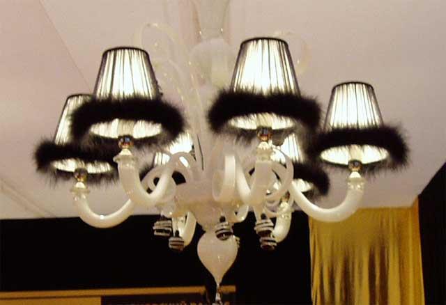 Вид комнатной люстры