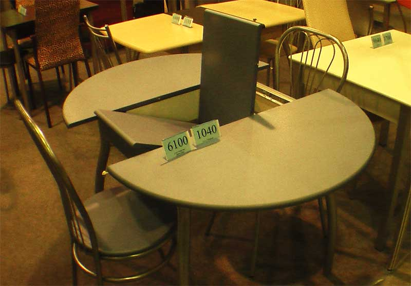 Фото круглого раскладного стола