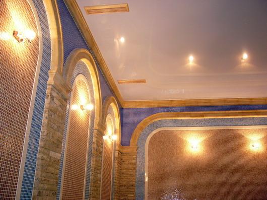 отделка стен мозаикой