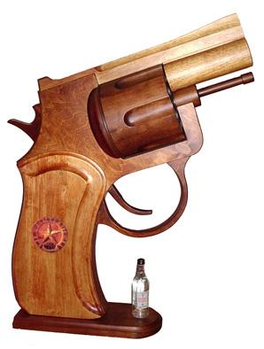 вид пистолета