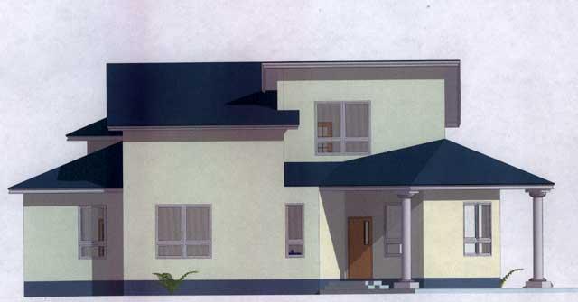 интересный дом