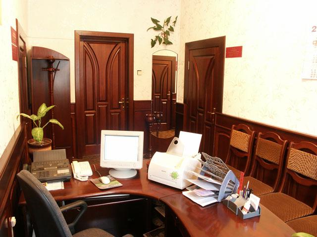 секретарское место
