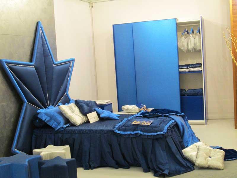 Фото синий спальни