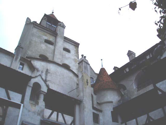 румынский замок