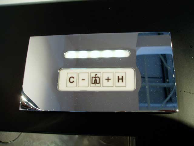 Использование клавишного выключателя для смесителя