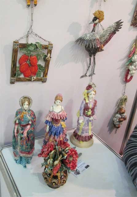 Керамические статуэтки для подарка