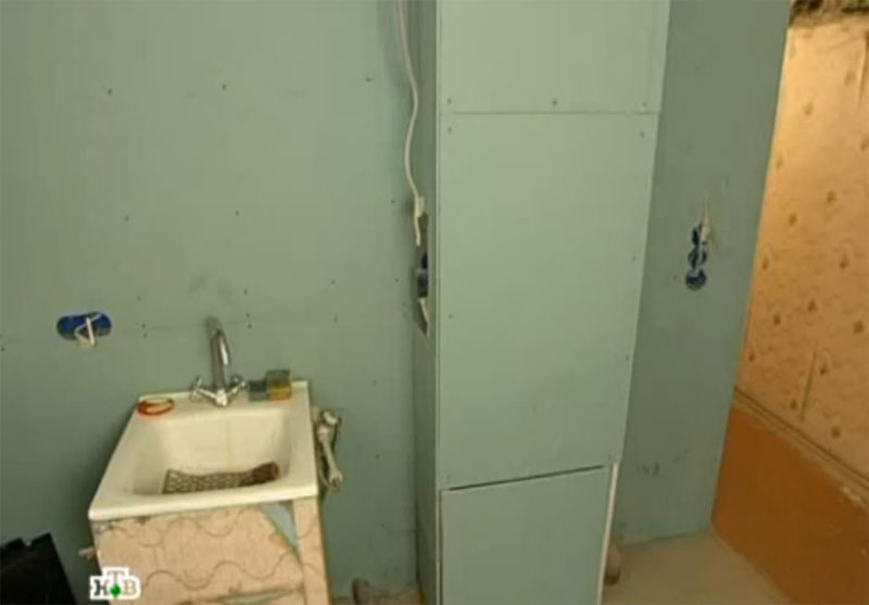 Место под холодильник на кухне