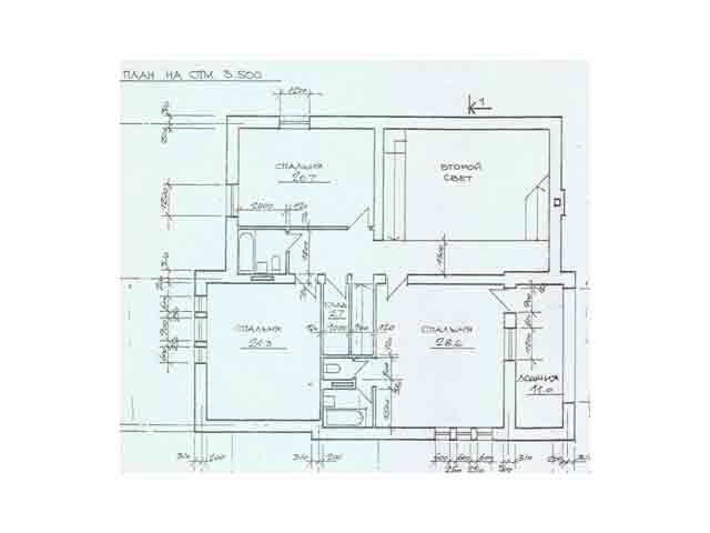 план эскиз первого этажа