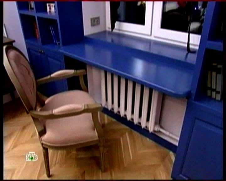 Письменный стол подоконник фото
