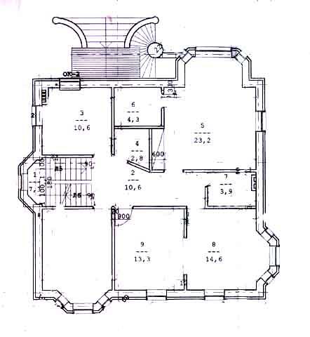 коттедж 2-й этаж
